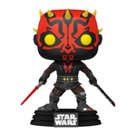 PRE ORDER Star Wars Clone Wars Darth Maul with Darksaber Funko Pop! Vinyl