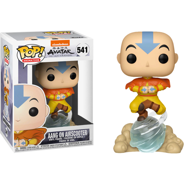 Avatar The Last Airbender Aang on Airscooter Funko Pop! Vinyl