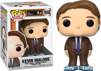 The Office Kevin Malone With Tissue Box Shoes Funko POP Vinyl