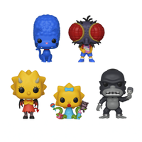 The Simpsons Treehouse Of Horror 5 Set