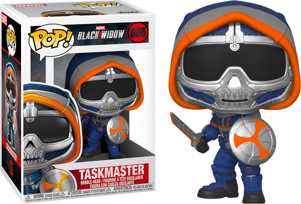 PRE ORDER Marvel Black Widow Taskmaster With Shield Funko Pop Vinyl Figure
