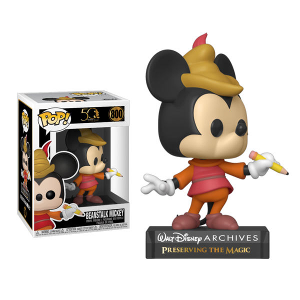 Disney Archives Beanstalk Mickey Funko POP Vinyl