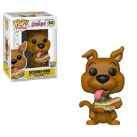 PRE ORDER Scooby Doo - Scooby Doo w/ Sandwich Animation Funko Pop! Vinyl Figure