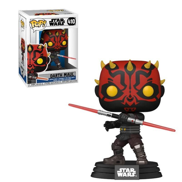 PRE ORDER Star Wars Clone Wars Darth Maul Funko Pop! Vinyl