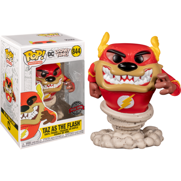 PRE ORDER Looney Tunes Taz as The Flash Funko Pop! Vinyl