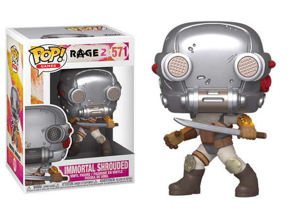 PRE ORDER Rage 2 Immortal Shrouded Funko Pop Vinyl Figure Games