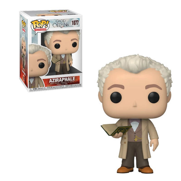 PRE ORDER Good Omens Aziraphale with Book Funko Pop! Vinyl
