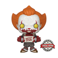 IT Chapter 2 Pennywise With Skateboard Funko Pop Vinyl Special Edition
