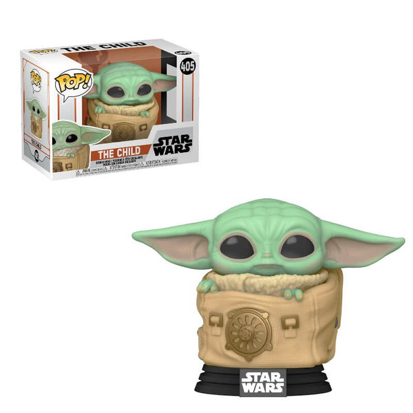 PRE ORDER Star Wars The Mandalorian The Child (Baby Yoda) with Bag Funko Pop! Vinyl