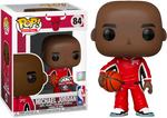 NBA Basketball Michael Jordan In Red Warm Up Suit Funko POP Vinyl