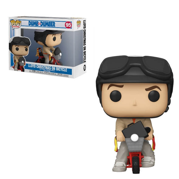 PRE ORDER Dumb & Dumber Lloyd with Bicycle Funko Pop! Ride
