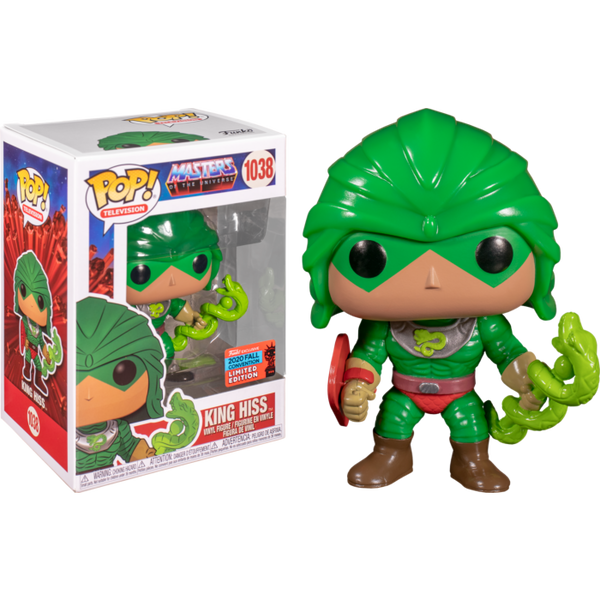 Masters of the Universe King Hiss Funko Pop! Vinyl Figure 2020 Fall Convention Exclusive