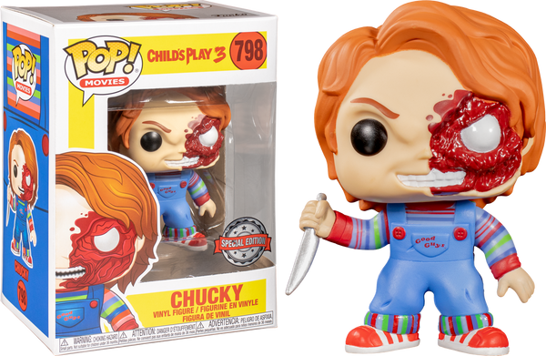 Childs Play 3 Chucky Battle Damaged Funko POP! VInyl Figure