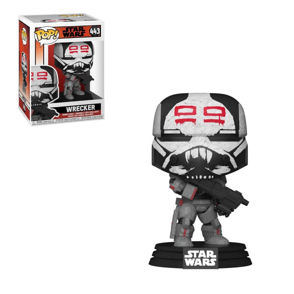 PRE ORDER Star Wars Bad Batch Wrecker Funko Pop! Vinyl