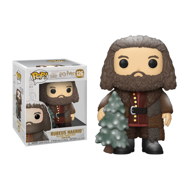 PRE ORDER Harry Potter Holiday Rubeus Hagrid 6-Inch Funko Pop! Vinyl