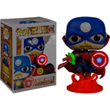 PRE ORDER Infinity Warps Soldier Supreme Glow in the Dark Funko Pop! Vinyl