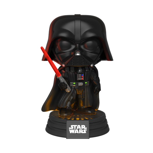 PRE ORDER Star Wars Darth Vader Electronic Funko Pop Vinyl Figure (With lights and sound!)