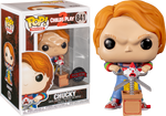 Child's Play 2 Chucky With Giant Scissors And Jack In A Box Funko Pop Vinyl Figure