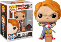 PRE ORDER Child's Play 2 Chucky With Giant Scissors And Jack In A Box Funko Pop Vinyl Figure