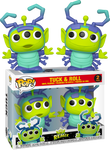 PRE ORDER Disney Pixar Alien Remix Tuck And Roll 2 Pack Funko Pop Vinyl