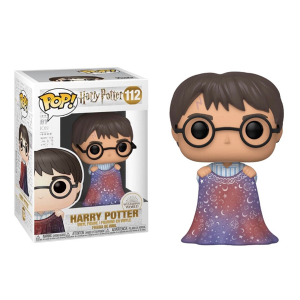 Harry Potter With Invisibility Cloak Funko Pop Vinyl Figure