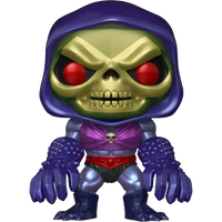 PRE ORDER Masters of the Universe Skeletor with Terror Claws Metallic Funko Pop! Vinyl