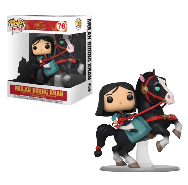 POP Rides: Mulan - Mulan on Khan