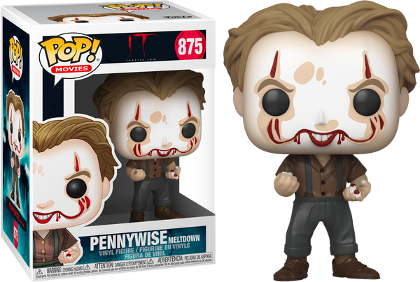 IT 2 Pennywise Meltdown Funko Pop! Vinyl Figure