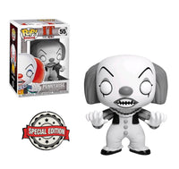 IT Pennywise Classic Black And White Funko Pop! Vinyl Figure Special Edition Exclusive