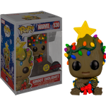 PRE ORDER Guardians of the Galaxy Holiday Baby Groot with Christmas Lights Glow in the Dark Funko Pop! Vinyl