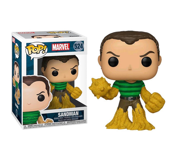 Marvel 80th Anniversary Spider-Man Sandman Funko POP Vinyl