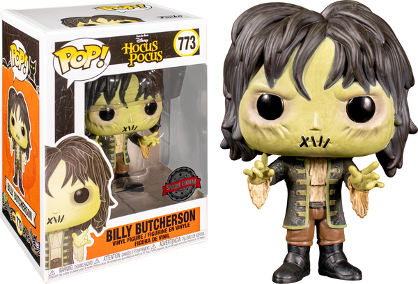 Disney Hocus Pocus Billy Butcherson Funko POP Vinyl