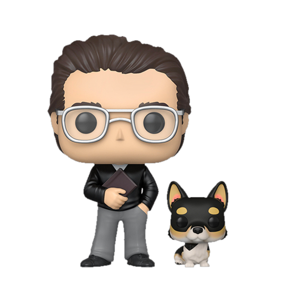 Stephen King With Molly Funko POP Vinyl
