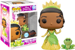 PRE ORDER The Princess and The Frog Princess Tiana and Naveen Glitter Funko Pop! Vinyl