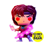 PRE ORDER X-Men Gambit With Cards Glow In The Dark Funko Pop Vinyl Figure