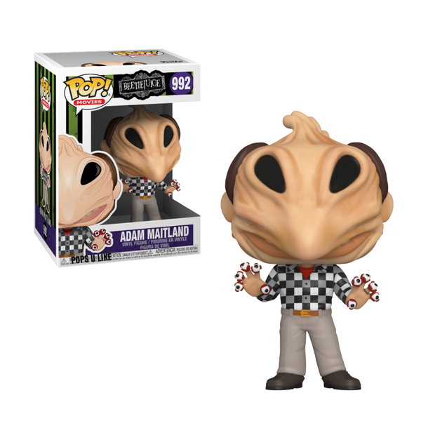 PRE ORDER Beetlejuice Adam Maitland Horror Transformation Funko Pop Vinyl Figure