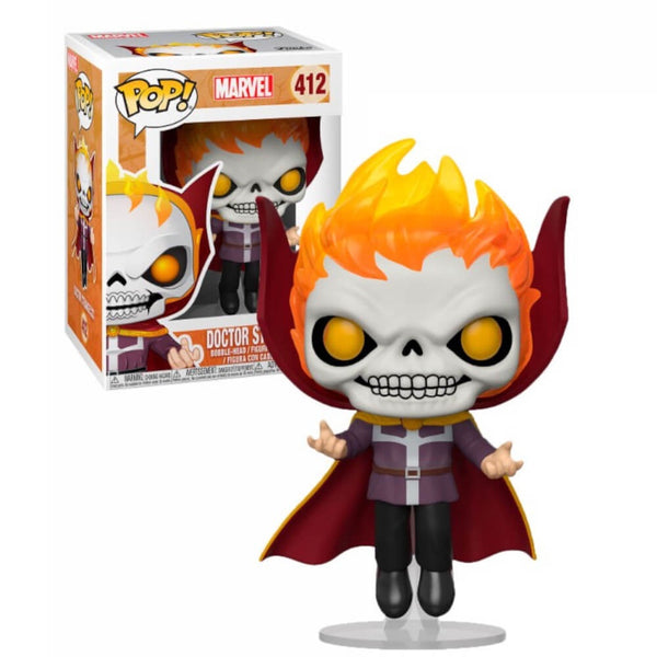 Marvel Dr. Strange as Ghost Rider EXC Funko Pop! Vinyl Figure #412