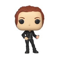 Marvel Black Widow (Street) Natasha Romanoff Funko Pop Vinyl Figure