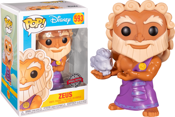 Disney Zeus With Cloud Pegasus Funko Pop Vinyl Figure