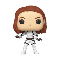 Marvel Black Widow (White Suit) Funko Pop Vinyl Figure