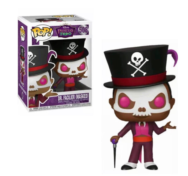 Princess And The Frog Dr Facilier Masked Funko Pop! Vinyl Figure #508