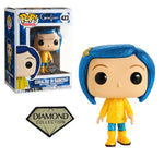 Coraline In Raincoat Diamond Glitter Funko POP! Vinyl Figure
