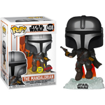 Star Wars The Mandalorian with Blaster Glow in the Dark Funko Pop! Vinyl