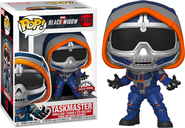 Marvel Black Widow Taskmaster With Claws Funko Pop Vinyl Figure Special Edition Exclusive