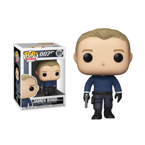 PRE ORDER James Bond (No Time to Die) Funko Pop Vinyl