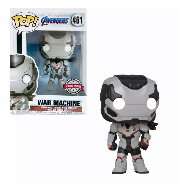 Marvel Avengers Endgame War Machine Funko Pop Vinyl Figure Special Edition #461