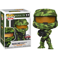 PRE ORDER Halo Infinite Master Chief with MA40 Assault Rifle Hydro Deco Funko Pop! Vinyl