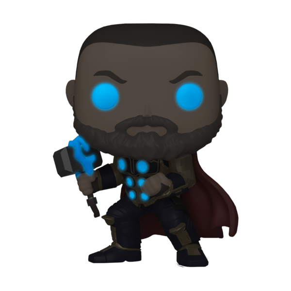 Marvel Avengers Game Thor Glow In The Dark (Stark Tech Suit) Funko Pop Vinyl Figure