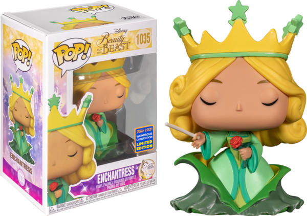 Beauty and the Beast Enchantress Funko Pop! Vinyl Figure (2021 Wondrous Convention Exclusive)