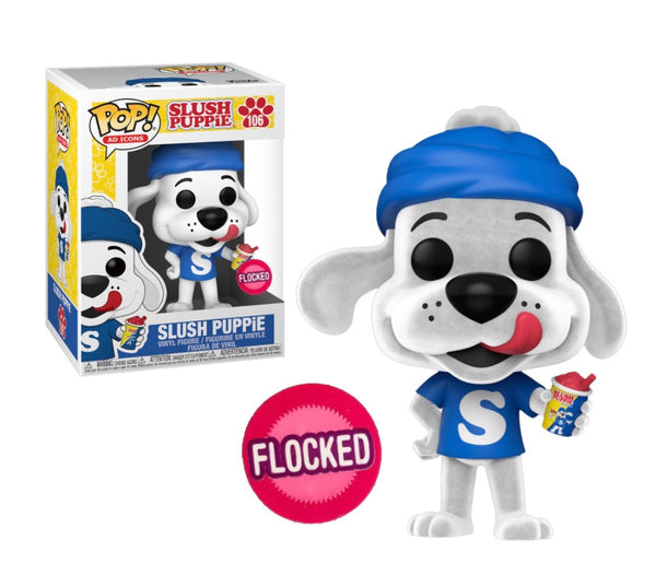 PRE ORDER ICEE Slush Puppie Flocked Funko Pop! Vinyl